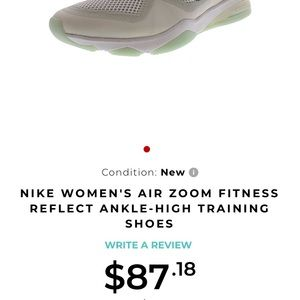 Air zoom fitness